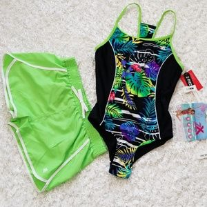 NWT Girl's Swim FREE $17 Speedo Goggle